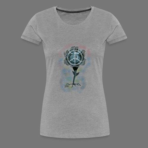 Fleur du printemps peace and love - T-shirt Premium Femme
