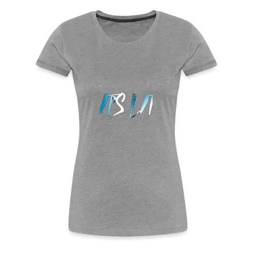 It's Lit (Ice Text) - Premium T-skjorte for kvinner