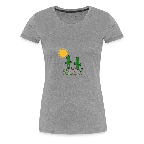 GOURDE - T-shirt Premium Femme
