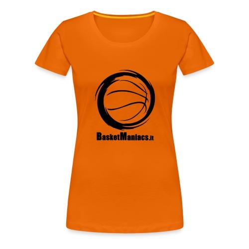 Basket Maniacs - Maglietta Premium da donna