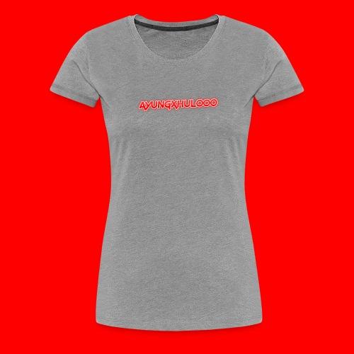 AYungXhulooo - Neon Redd - Women's Premium T-Shirt