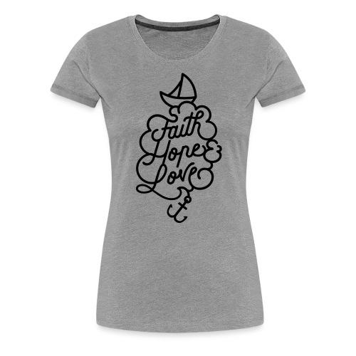 logo schiff - Frauen Premium T-Shirt