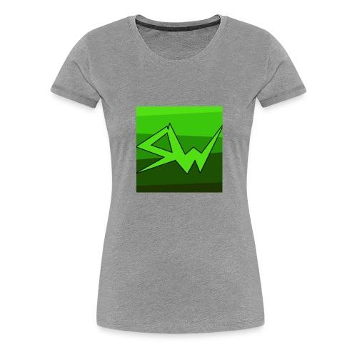 SoupWizard Logo - Women's Premium T-Shirt