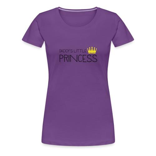 Daddy's little Princess - Frauen Premium T-Shirt