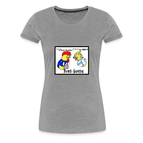france argentine - T-shirt Premium Femme