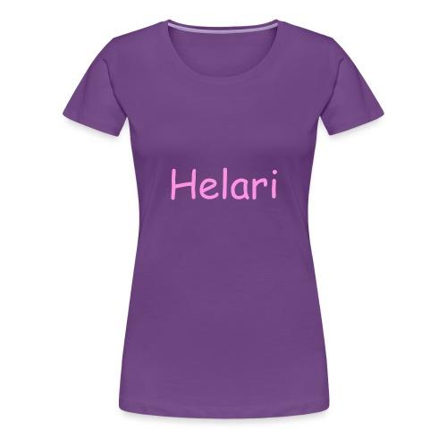 Helari Merch - Naisten premium t-paita