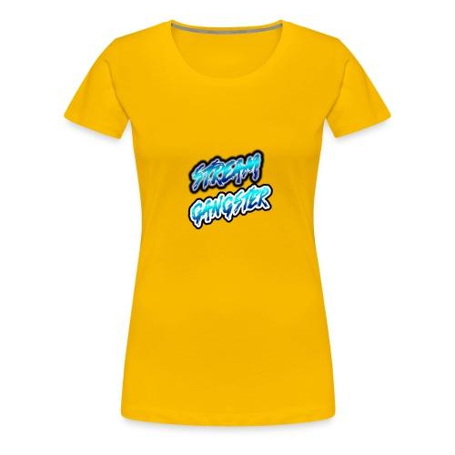StreamGangsterMerchandise - Vrouwen Premium T-shirt