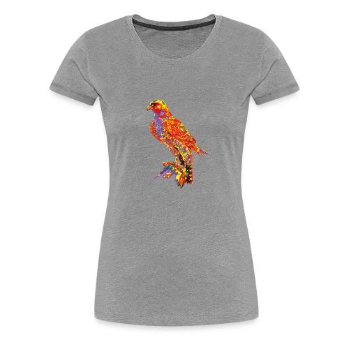 Haukka - Frauen Premium T-Shirt