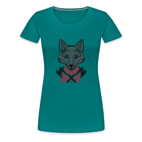 Wolf - T-shirt Premium Femme