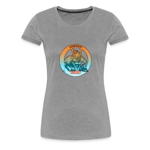 samurai t shirt - Maglietta Premium da donna