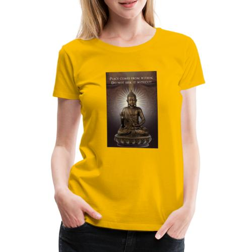 Peace from Within - Women's Premium T-Shirt