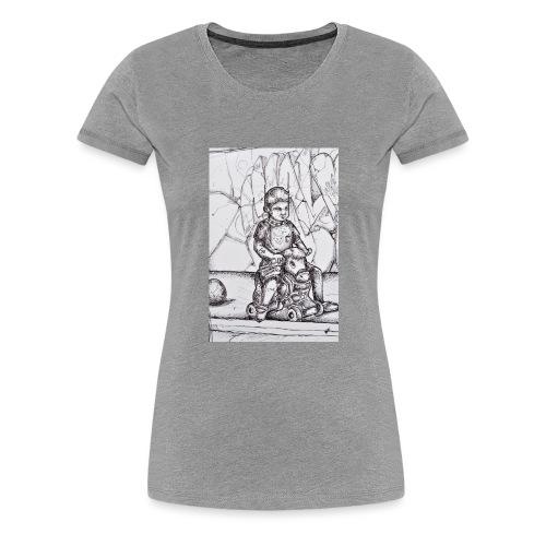 detail devil - T-shirt Premium Femme