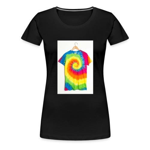 tie die small merch - Women's Premium T-Shirt