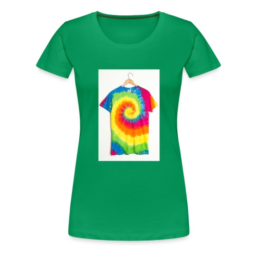 tie die small merch - Women's Premium T-Shirt