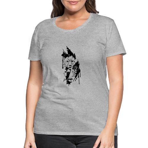 Gepard - Frauen Premium T-Shirt