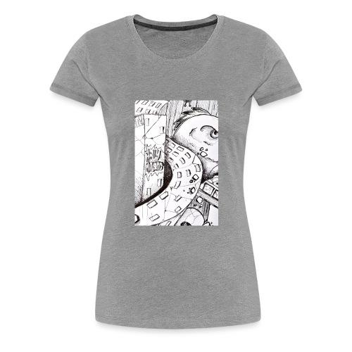 detail bird - T-shirt Premium Femme