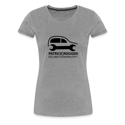 patrick logogr final schwarz kopie - Frauen Premium T-Shirt