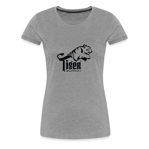 TIGER ZURICH digitaltransfer - Frauen Premium T-Shirt