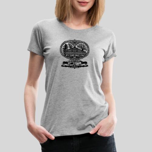Begegnungshof Wösch - Frauen Premium T-Shirt
