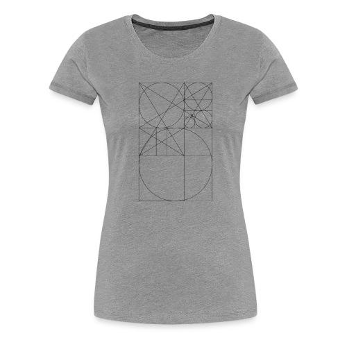 Złoty Podział - Koszulka damska Premium