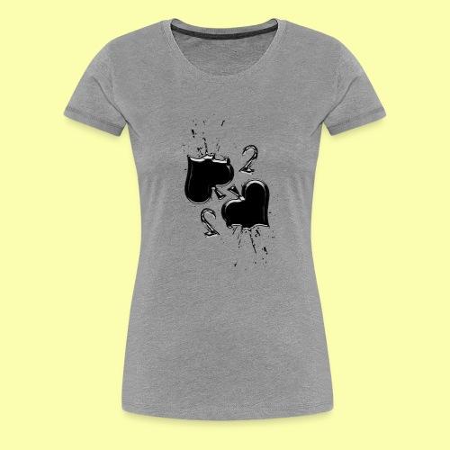 due di picche - Maglietta Premium da donna