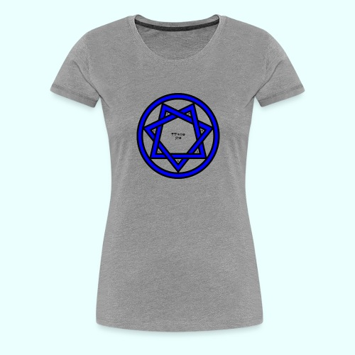Twixtov septagram - Vrouwen Premium T-shirt