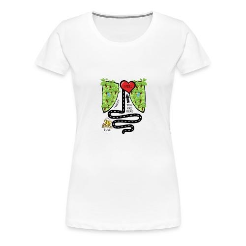 You Are Here - Women's Premium T-Shirt