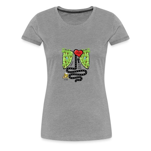 You Are Here - Women's Premium T-Shirt