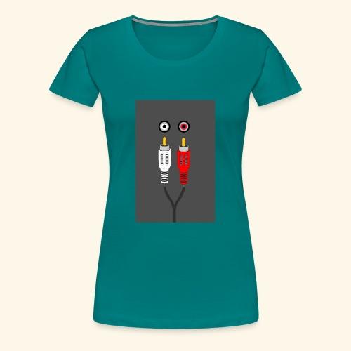 rca cable1 - Maglietta Premium da donna