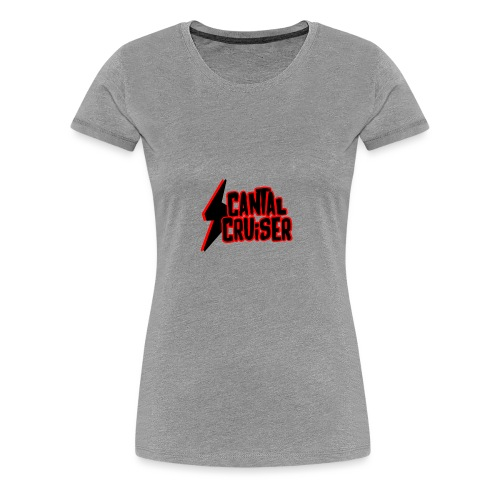 Logo Cantal Cruiser - T-shirt Premium Femme