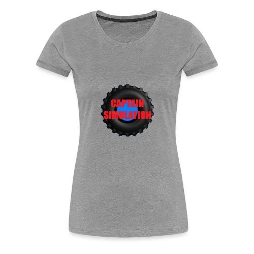 Logo with no blue background - Women's Premium T-Shirt