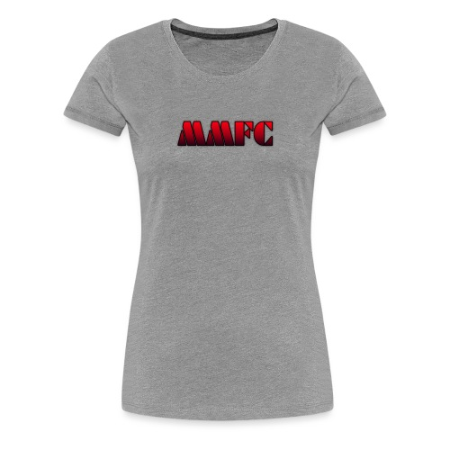 MMFC Text - Women's Premium T-Shirt