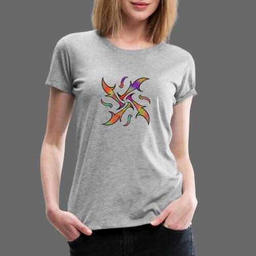 Hypnotisches Tribalmuster - Frauen Premium T-Shirt