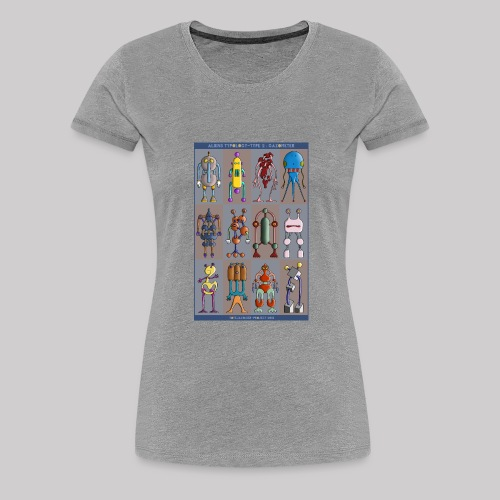 2 ALIEN TYPOLOGY GAZOMETER - T-shirt Premium Femme