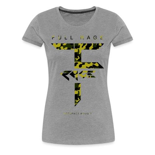 Full Rage Design 7 - T-shirt Premium Femme
