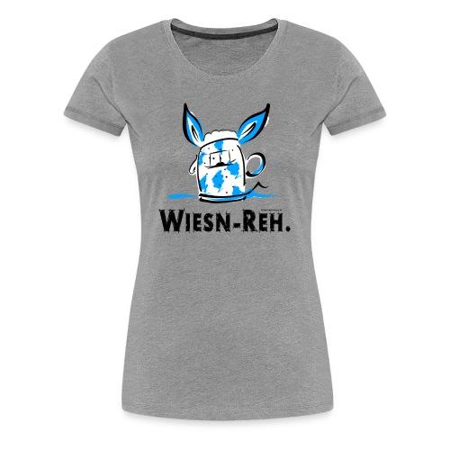 Auf zum Oktoberfest - Die Alternative zum Dirndl - Frauen Premium T-Shirt
