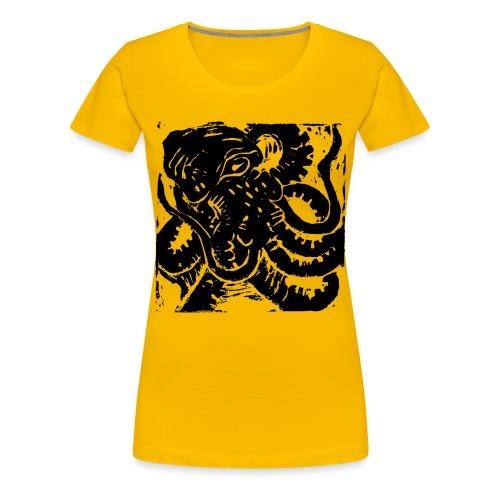 Museum Collection Octopus - Women's Premium T-Shirt