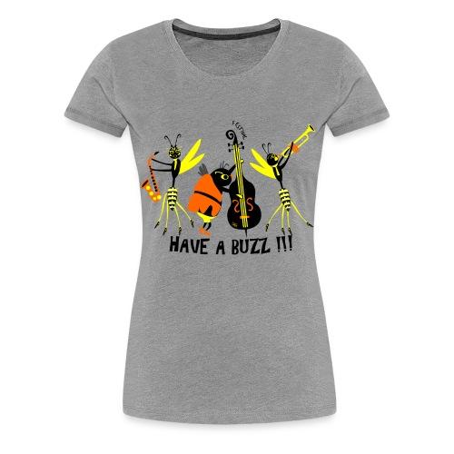 Jazz band - Frauen Premium T-Shirt