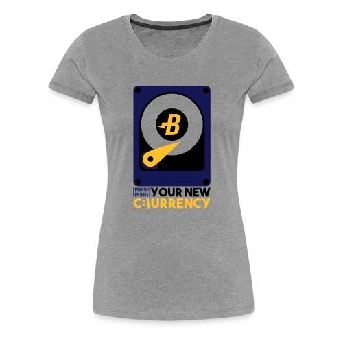 burst - Koszulka damska Premium