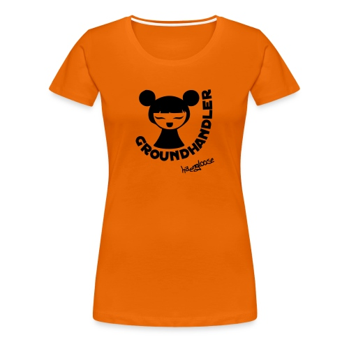 groundhandler m1 - Frauen Premium T-Shirt