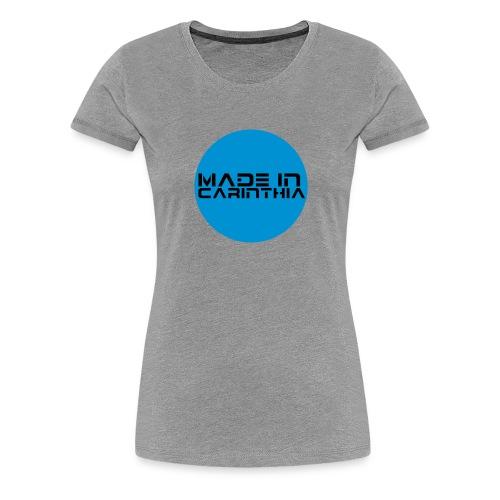 madeincarinthia - Frauen Premium T-Shirt