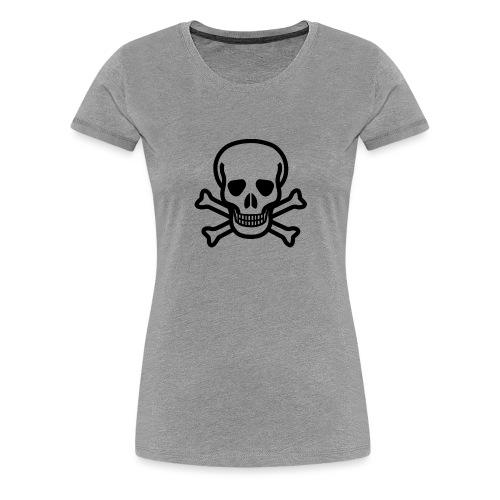 Skull and Bones - Frauen Premium T-Shirt