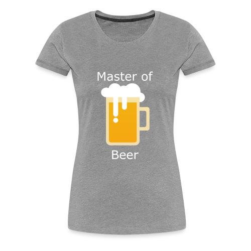 Beerplop Bierkrug Master of Beer - Frauen Premium T-Shirt