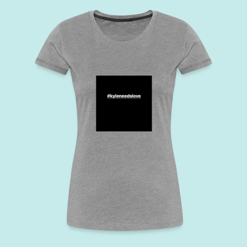 the iconic trademark for our campaign - Women's Premium T-Shirt