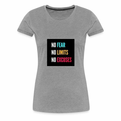 NO FEAR - Premium-T-shirt dam