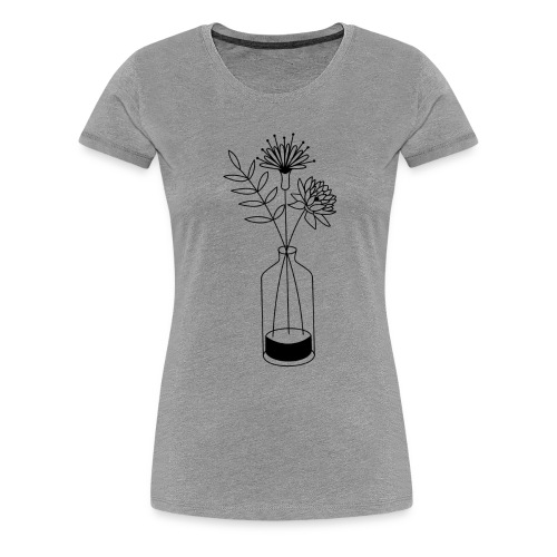 Flowers - T-shirt Premium Femme