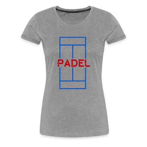 Pista padel - Camiseta premium mujer