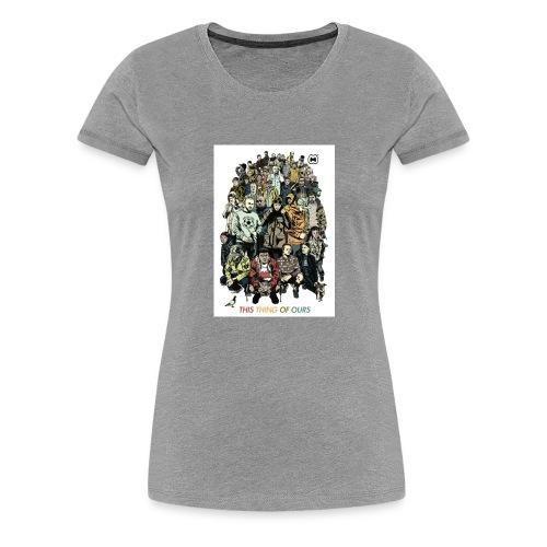 35e67845c9b6034146f6e4cacc68e097 casual co casual - Women's Premium T-Shirt