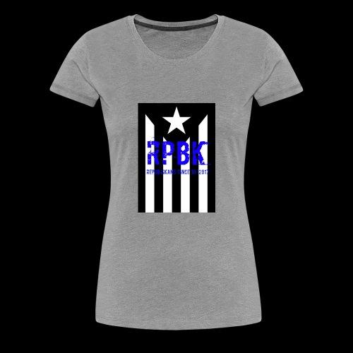 Nuestro logo RPBK - Camiseta premium mujer
