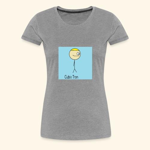 T Shirt Cubix Tron - Camiseta premium mujer